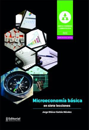 Cubierta para Microeconomía básica en siete lecciones